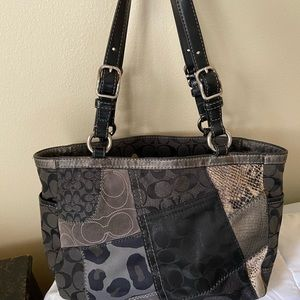 Coach Bags - Coach patchwork purse